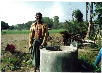 Production de biogaz au Bangladesh